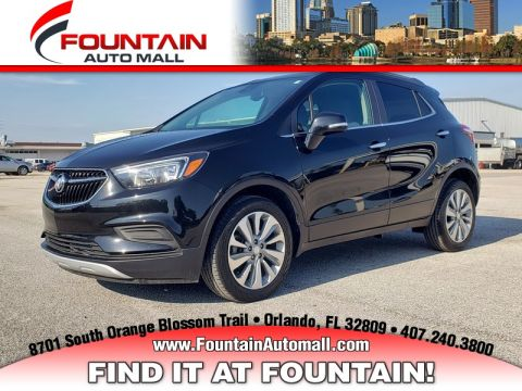 Pre-Owned 2018 BUICK ENCORE FWD 4DR PREFERRED